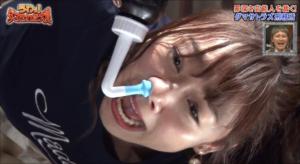 須田亜香里 鼻毛